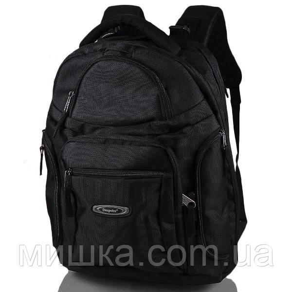 """1063 Рюкзак для ноутбука с экраном до 15.4"""" One Polar черный"""