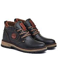 Мужские кожаные кроссовки, ботинки -DSL