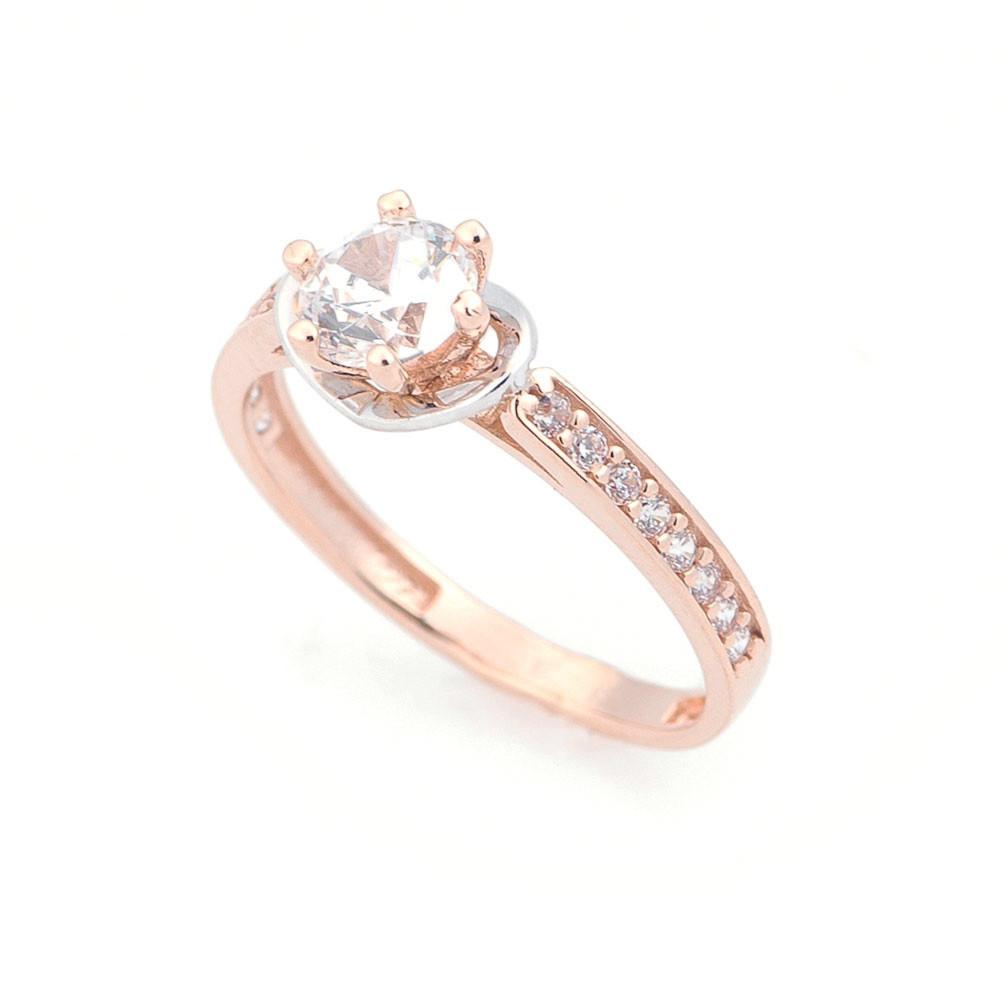 Помолвочное золотое кольцо гк05290