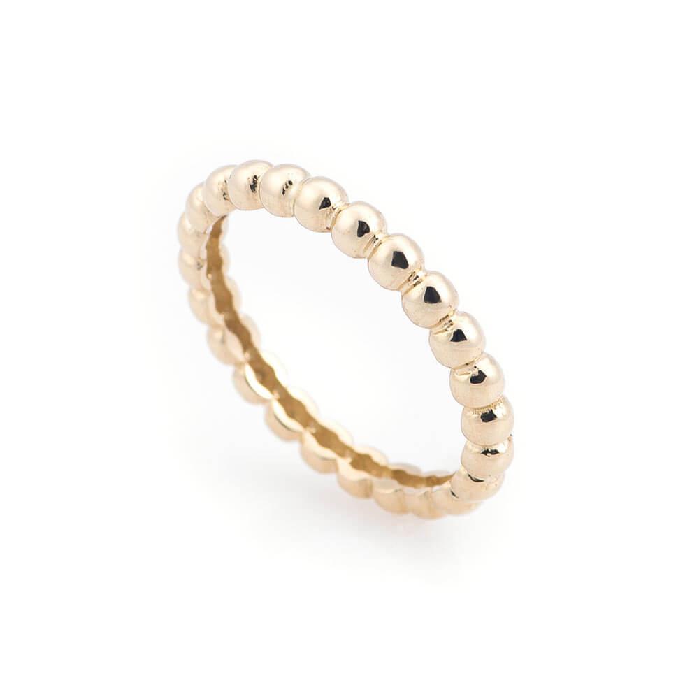 Золотое кольцо в стиле минимализм гк05332