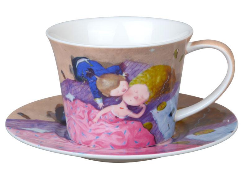 """Чайный набор 2 предмета  """"Поцелуй в щечку"""", Lefard, 924-336"""