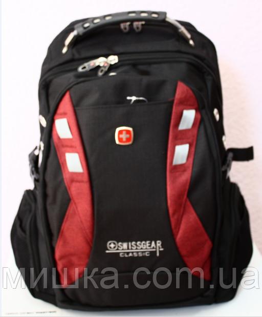 Рюкзак swissgear 9371 USB & AUX & дождевик
