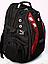 Рюкзак swissgear 9371 USB & AUX & дождевик, фото 2