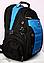 Рюкзак swissgear 1535 USB & AUX & дождевик красный, фото 3