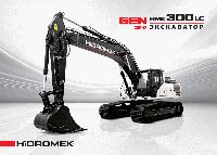 Гусеничный экскаватор HIDROMEK HMK 300LC