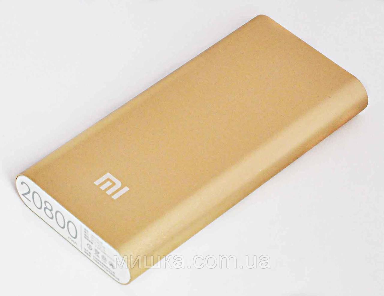 Power Bank Xiaomi Mi 20800 mAh, gold (60%)