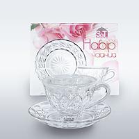 Сервиз чайный Набор чайный 12пр. (чашка-200мл, блюдце-14,5см)
