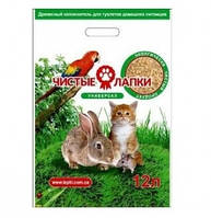 Чистые лапки универсал 3 кг (12 л) - Наполнитель для кошачьего туалета