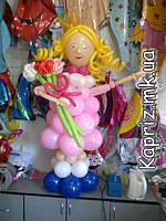 Фигуры и композиции из шаров для детского праздника
