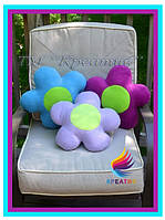 Корпоративный подарок флисовая подушка игрушка с вашим логотипом под заказ (от 50 шт.), фото 1