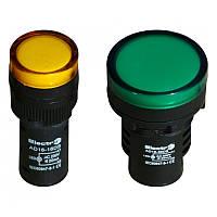 Светосигнальный индикатор AD16 (LED) матрица 16mm зеленая 24В АС/DC Electro