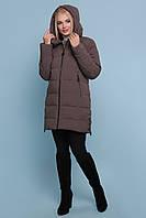 Зимова жіноча курточка з капюшоном