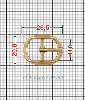 Пряжка 14 мм Красное золото, фото 2