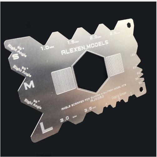 Угловой скребок для обработки пластика. COLD ART FG-AJ0060