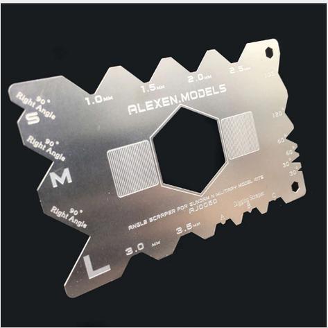 Угловой скребок для обработки пластика. COLD ART FG-AJ0060, фото 2