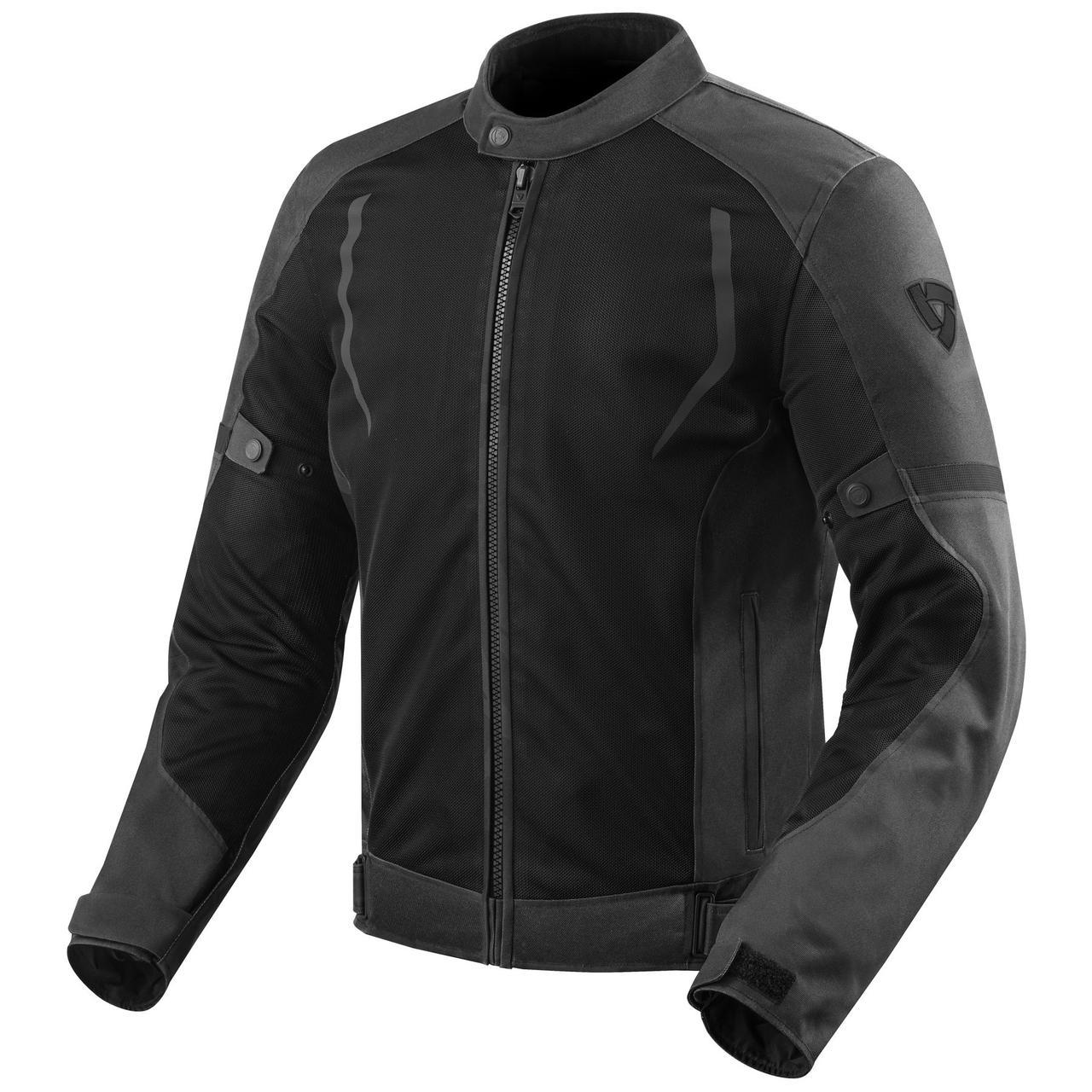 Мотокуртка Revit TORQUE текстиль р. M black