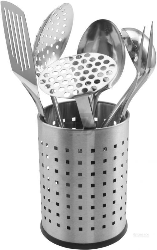 Набір кухонного приладдя на підставці  7 предметів Maxmark MK-TL161