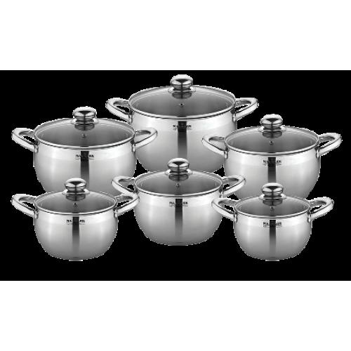 Набір посуду 12 предметів Maxmark MK-APP7512B