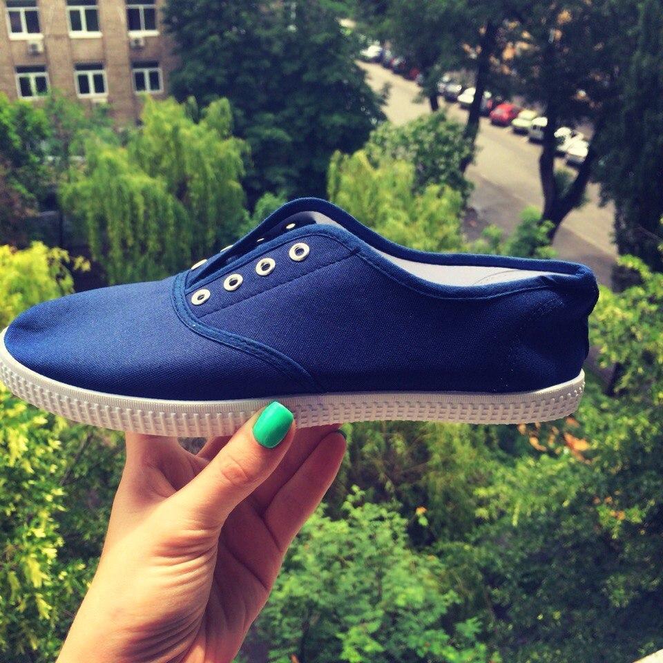 Летние женские мокасины на шнуровке синие 36р