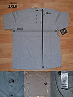 Мужская футболка батал ,серая, большой размер последний MR