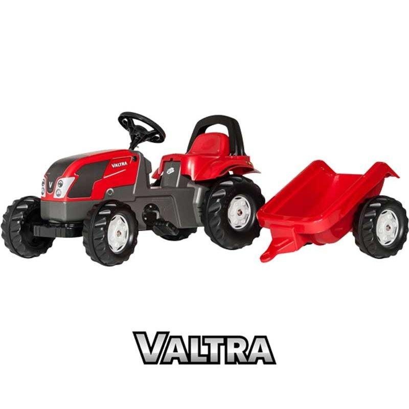 Трактор педальный Kid Valtra Rolly Toys 012527