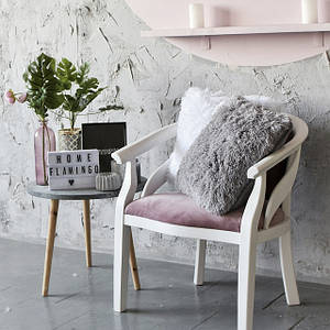 Декоративные подушки пухнастики