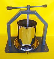 Пресс винтовой для сока.Объем 10 литров.Усиленный корпус.