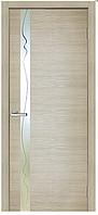 Дверное полотно Зеркало Z 02 (структурный скин) ПВХ Омис