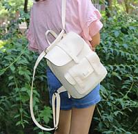 Рюкзак бежевый кожаный в Украине. Сравнить цены, купить ... 8891609d740