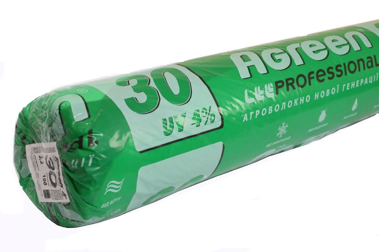 Агроволокно Agreen P-30 белый 1,6х100 м