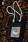 Эко-сумка, дизайнерская, ручной принт, Джинс, льон, коттон, фото 3