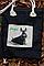 Эко-сумка, дизайнерская, ручной принт, Джинс, льон, коттон, фото 4