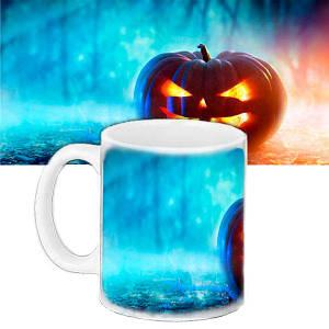 Чашка с рисунком Halloween Тыква