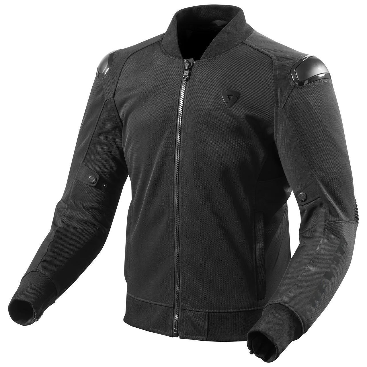 Мотокуртка Revit TRACTION текстиль р. XL black