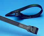 Кабельные хомуты  ЗМ Scotchflex FS 280 DW-C (280 мм. х 7,5 мм.) пластиковые стяжки. Черные, фото 2