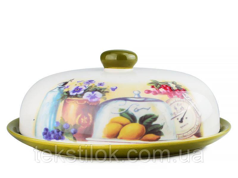Блюдо с крышкой Тоскана -керамика