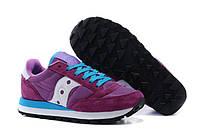 Cтильные женские кроссовки SAUCONY JAZZ ORIGINAL, фиолетовые