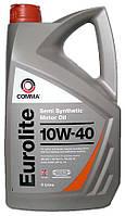 Моторное масло полусинтетика Comma (Комма) Eurolite 10w40 5л