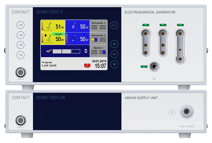 Система электрохирургическая ЭКОНТ-0201.3