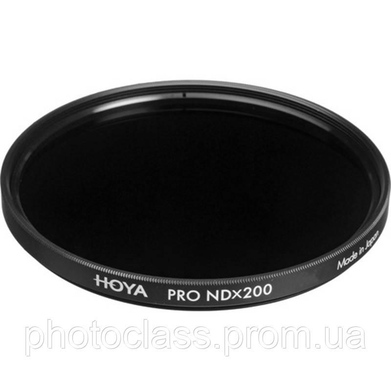 Фильтр нейтрально-серый Hoya Pro ND 200 (7,6 стопа) 82 мм