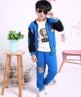 Детский  костюм-тройка на мальчика  Д 0704-И, фото 1