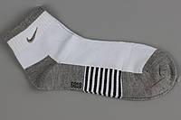 Носки спортивные укороченные унисекс женские Nike White 36-41