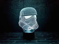 3D Лампа Штурмовик
