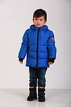 Детская демисезонная куртка для мальчика 66BOY BLUE  90, см Синяя