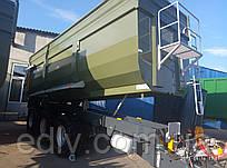 """Тракторный прицеп ТСП-39 """"ВАГОВОЗ"""" грузоподъемность 30,5т, объем до 39 м3"""