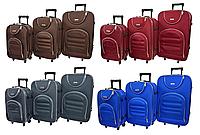 Набор дорожных чемоданов на колесах Siker Lux набор 3 штуки, фото 1