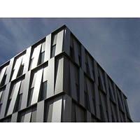 Фасадная панель с полимерным покрытием
