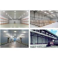 Строительство склада для охлаждения и хранения продукции