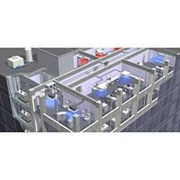 Монтаж оборудования системы холодоснабжения