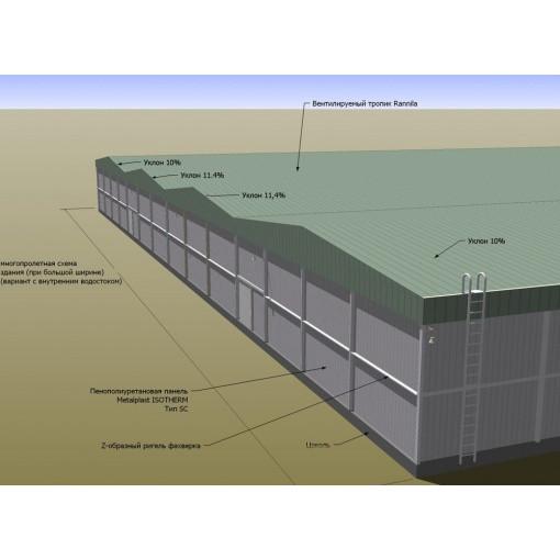Строительство холодильных зданий